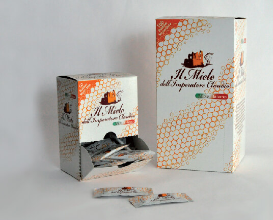 Il Miele dell'Imperatore Claudio - packaging design