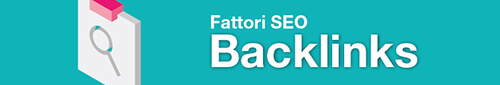 fattori seo google - backlinks